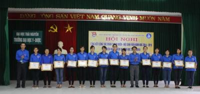 Hội nghị tổng kết công tác Đoàn Thanh Niên – Hội Sinh viên năm học 2014 – 2015 và triển khai nhiệm vụ năm học 2015 – 2016